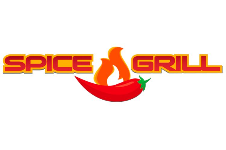 SpiceGrill Logo design by Marketshare Communications
